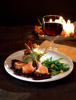Lamb Chop Dinner
